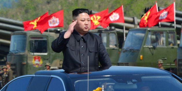 North Korea Test-Fires Ballistic Missile In Defiance Of World