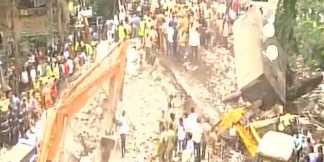 Mumbai Building Collapse Kills 7, Over 40 Feared