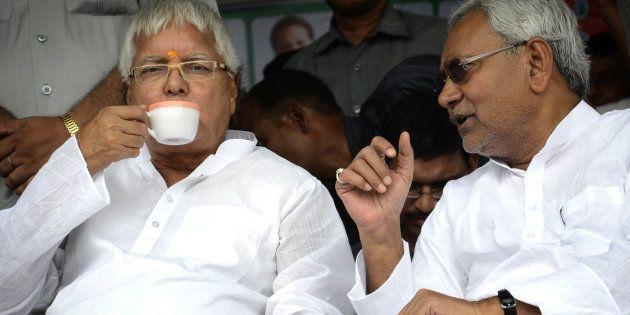 Lalu Prasad Reminds Nitish Kumar That RJD Had Made Him The