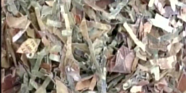Sacks Of Burnt ₹500 And ₹1,000 Notes Found In UP's