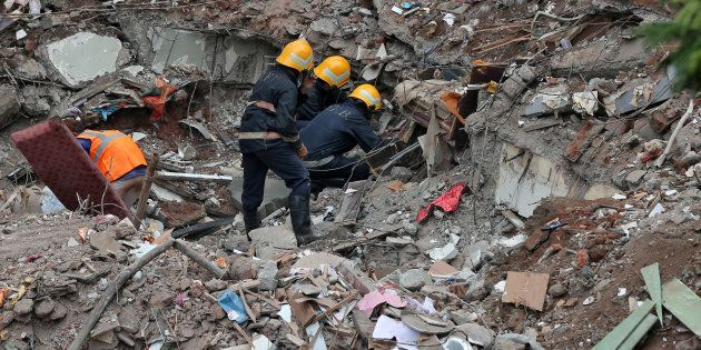 'Cut Both My Hands But Pull Me Out', Woman Trapped Under Rubble Of Mumbai Building Gets Another Chance...