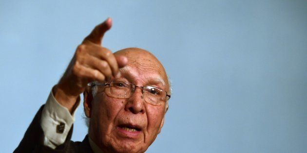 Turmoil In Kashmir Not Due To Cross-Border Terrorism, Says Pakistan's Sartaj
