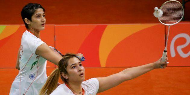 2016 Rio Olympics - Badminton - Women's Doubles Group Play - Riocentro - Pavilion 4 - Rio de Janeiro,...
