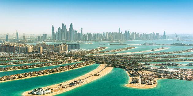 The Palm Jumeirah in Dubai, Dubai, United Arab