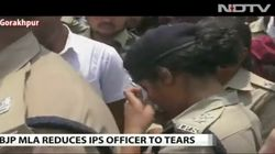 IPS Officer Nicknamed 'Lady Singham' Reduced To Tears By BJP MLA In
