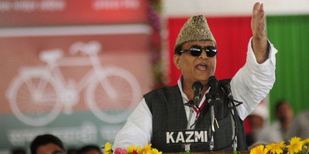 Azam Khan Calls BJP Hollow For Making PM Modi's Mother Stand In Bank
