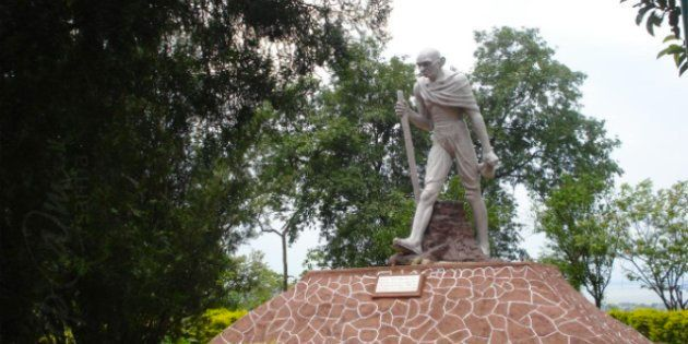 Assam's BJP-Led Govt Wants To Take Down A Gandhi Statue Because It Apparently Looks Nothing Like
