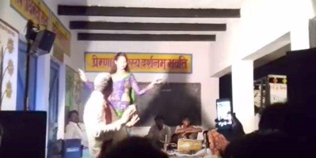 WATCH: Primary School In UP Turns Into A Dance Bar On Raksha