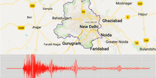 Earthquake Of 4.4 Magnitude Shakes Delhi,