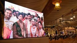 Former BJP Minister Janardhan Reddy's Daughter's Grand Wedding Raises