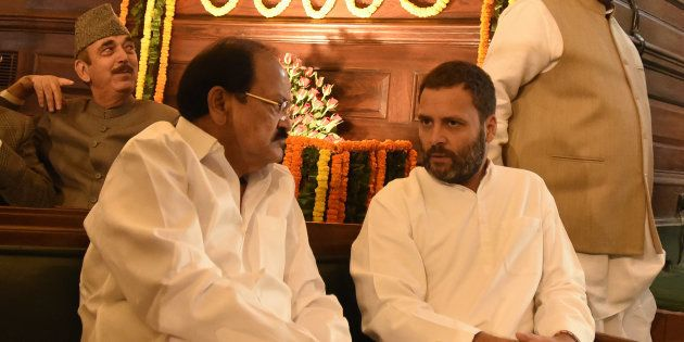 Demonetisation: Venkaiah Naidu Asks Congress To State Whether They Support PM's Move Or