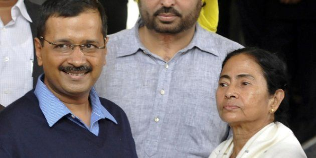 Mamata, Kejriwal Hold Rally, Demand Rollback Of Demonetisation In 3