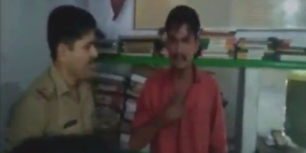 Watch: Samajwadi Party Neta's Nephew Slaps Policeman In