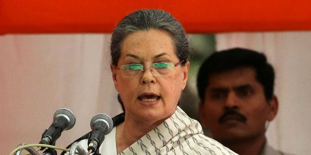 After Rahul, 'Missing' Posters Of Sonia Gandhi Surface In