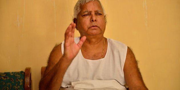 Lalu Prasad's Response To Sushil Modi's Taunt On Milking The Railways Is