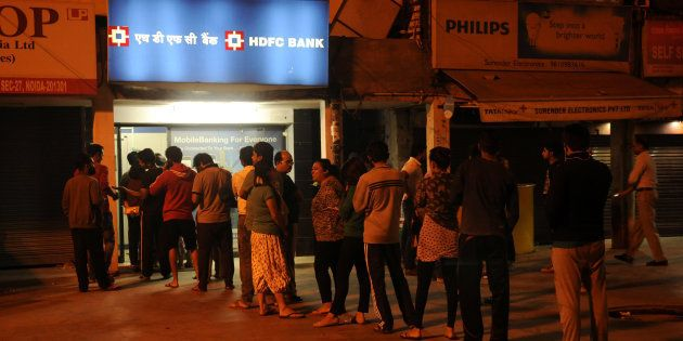 Demonetisation: Queues Getting Shorter At Banks And Longer At