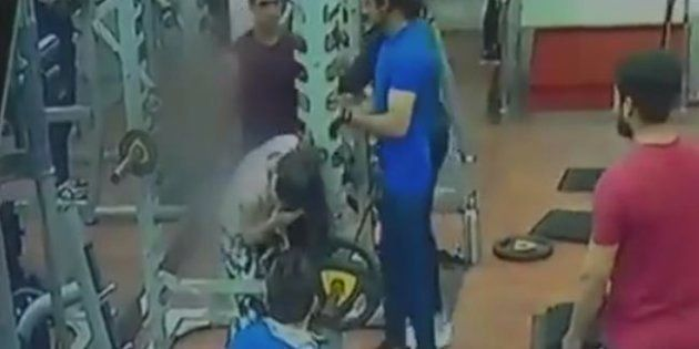 Caught On Camera: Man In Indore Gym Hits Woman For Complaining Against