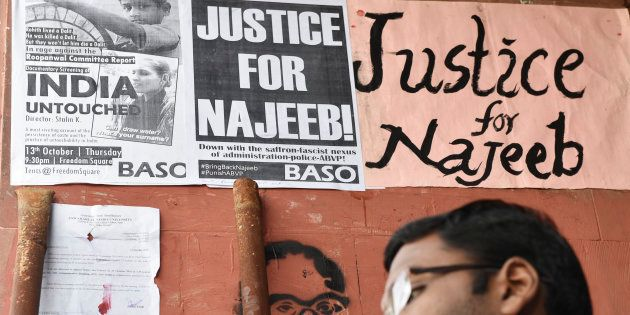Najeeb Ahmed Was Assaulted By ABVP Member, Finds JNU's Protocol