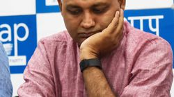 AAP MLA Somnath Bharti Used To Beat, Harass His Wife: Police To Delhi