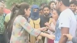 India Today Reporter Heckled At Aligarh Muslim Univeristy While Covering Verdict On Triple