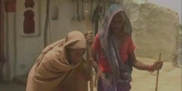 A 90-Year-Old UP Woman Sold Her Goats To Build A Toilet For Her 102-Year-Old