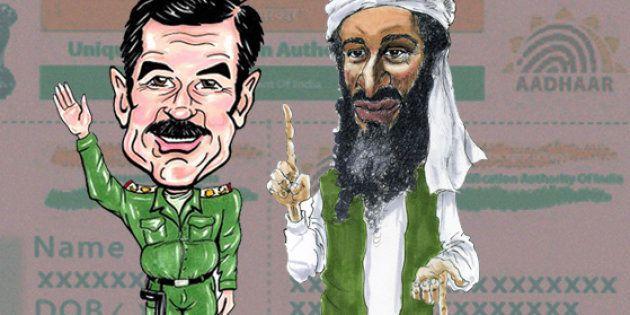 When Saddam Hussain Tried To Get An Aadhaar Card Made For Osama Bin