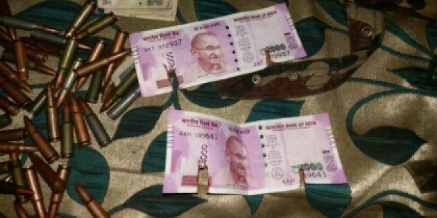 ₹2000 Notes Recovered From Terrorists Gunned Down In J&K's