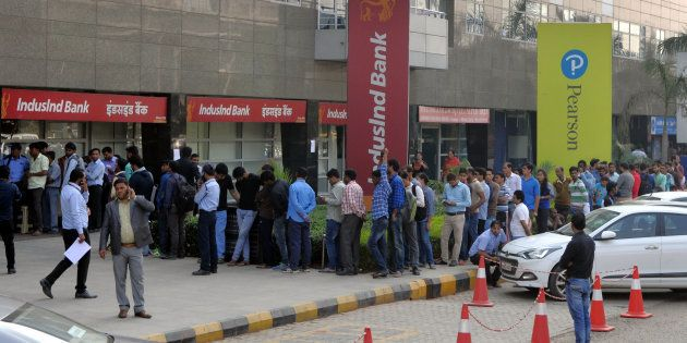 Demonetisation: Ailing Four-Year-Old Dies In Bank As Father Stands In Queue To Withdraw Money In