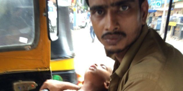 Help Is Pouring In For Mumbai Auto Driver With Paralysed Wife, Forced To Drive Around All Day With Toddler...