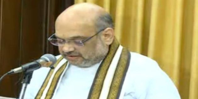 Amit Shah, Smriti Irani Take Oath as Rajya Sabha