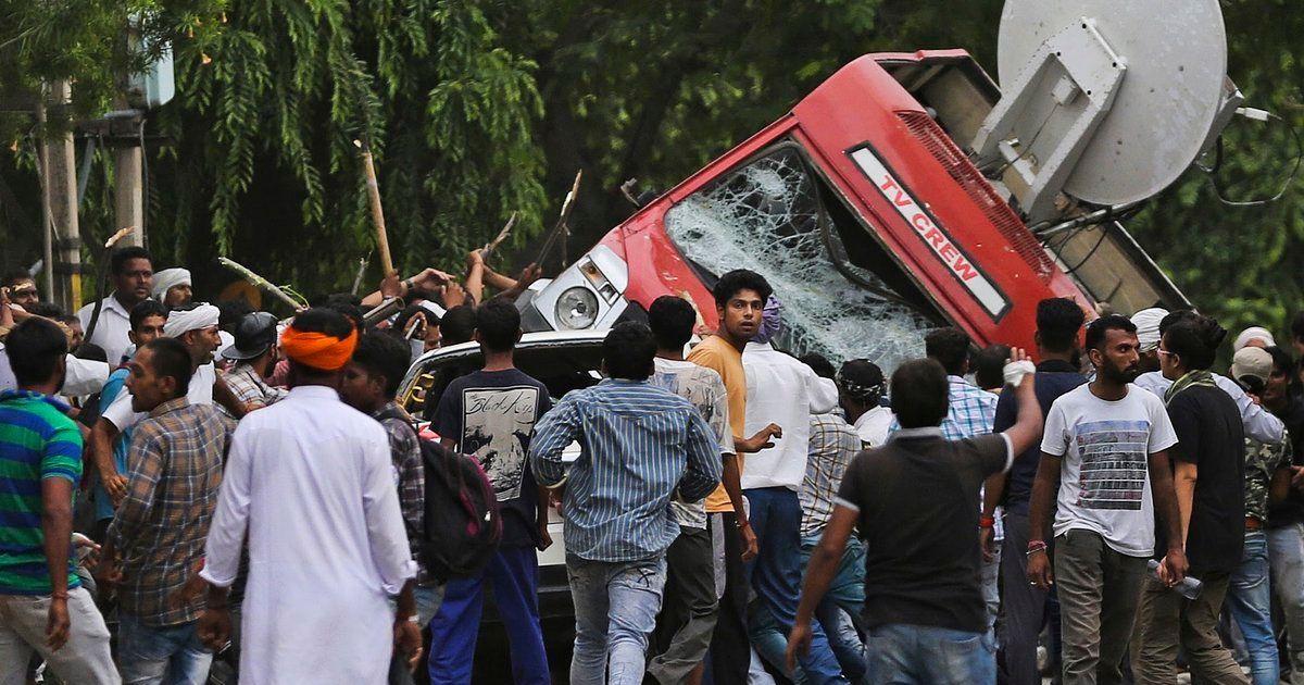 PHOTOS: How The Followers Of Rape Convict Ram Rahim Singh Went On A