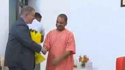 Israeli Envoy Meets Yogi Adityanath, Says Can Aid UP In Cleaning