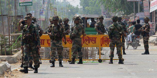 Security Beefed Up In Sirsa Ahead Of Gurmeet Ram Rahim Singh's Sentencing In Rape