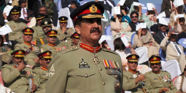 Pakistan's army chief General Raheel