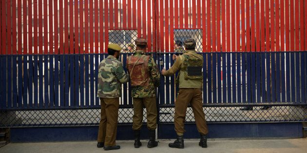 Militants Attack Police Convoy In Kulgam, Two Cops