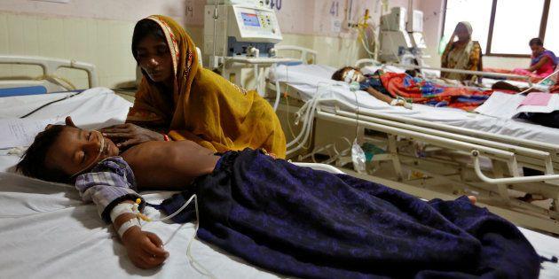 In Another Tragedy, 7 Children Die Of Encephalitis In Gorakhpur's BRD Medical