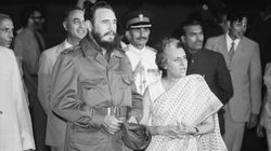 PHOTOS: When Fidel Castro Surprised Indira Gandhi With A 'Bear-Hug' During His India