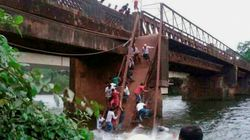 Two Dead, Several Missing As Sanvordem Bridge Collapses In