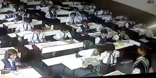 On Camera: Lucknow Teacher Suspended For Beating Class 3 Boy After He Didn't Stand Up During Roll