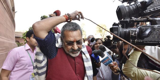 People Should Not Hesitate To Say 'Bharat Mata Ki Jai', Says Minister Giriraj