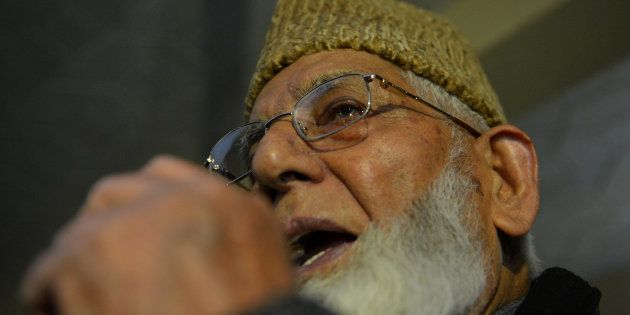 NIA Files Case Syed Ali Shah Geelani For Allegedly Receiving Funds From