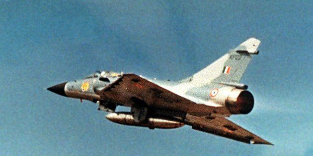 An undated Defence Ministry photograph shows an Indian Air Force French-made Mirage 2000