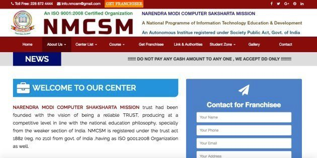CBI Nabs Two For Running Fake Website Using Prime Minister's