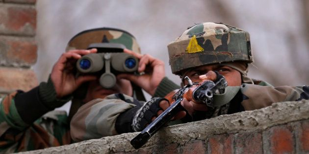 Two Jawans Injured In Terrorist Attack On Army Unit In