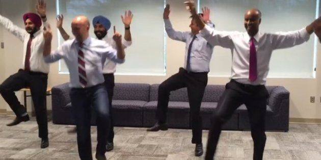 Liberal MPs? More Like Professional Bhangra