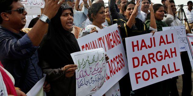 Women Activists Re-Enter Mumbai's Haji Ali Dargah After 5