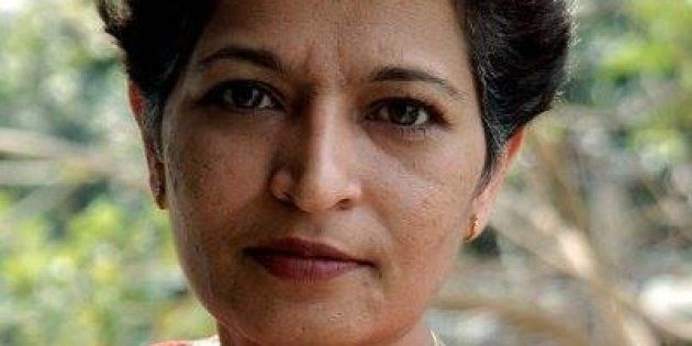 File photo of journalist Gauri Lankesh, who was murdered at her Bengaluru residence on Tuesday, 5 September,