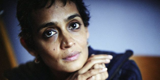 Writer Arundhati Roy poses January 23, 2004 in New York. Arundhati Roy's most famous book is 'The God...