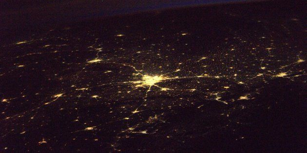 French Astronaut Takes Stunning Image Of New Delhi From