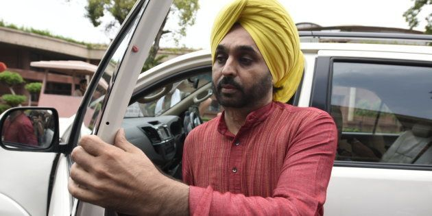 AAP MP Bhagwant Mann Came Drunk To His Own Election Meeting, Claims Prashant